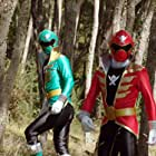 Azim Rizk and Andrew Gray in Power Rangers Megaforce (2000)