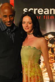 Claire Falconer and Brian Keith Gamble at event of Screamfest