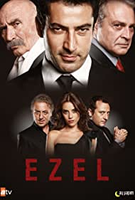 Haluk Bilginer, Tuncel Kurtiz, Kenan Imirzalioglu, Yigit Özsener, Cansu Dere, and Baris Falay in Ezel (2009)