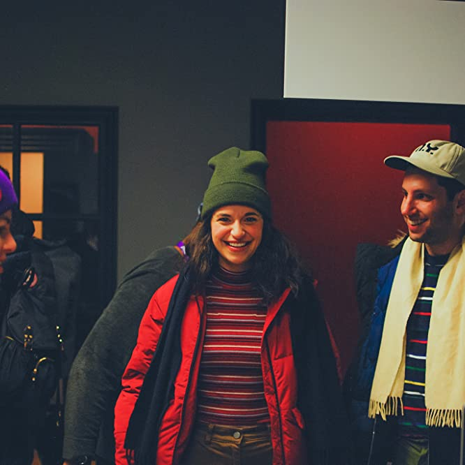 Daniel Jaffe and Michelle Uranowitz at an event for Goodbye, Brooklyn (2018)