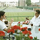 Jonathan Rhys Meyers and Matthew Goode in Match Point (2005)