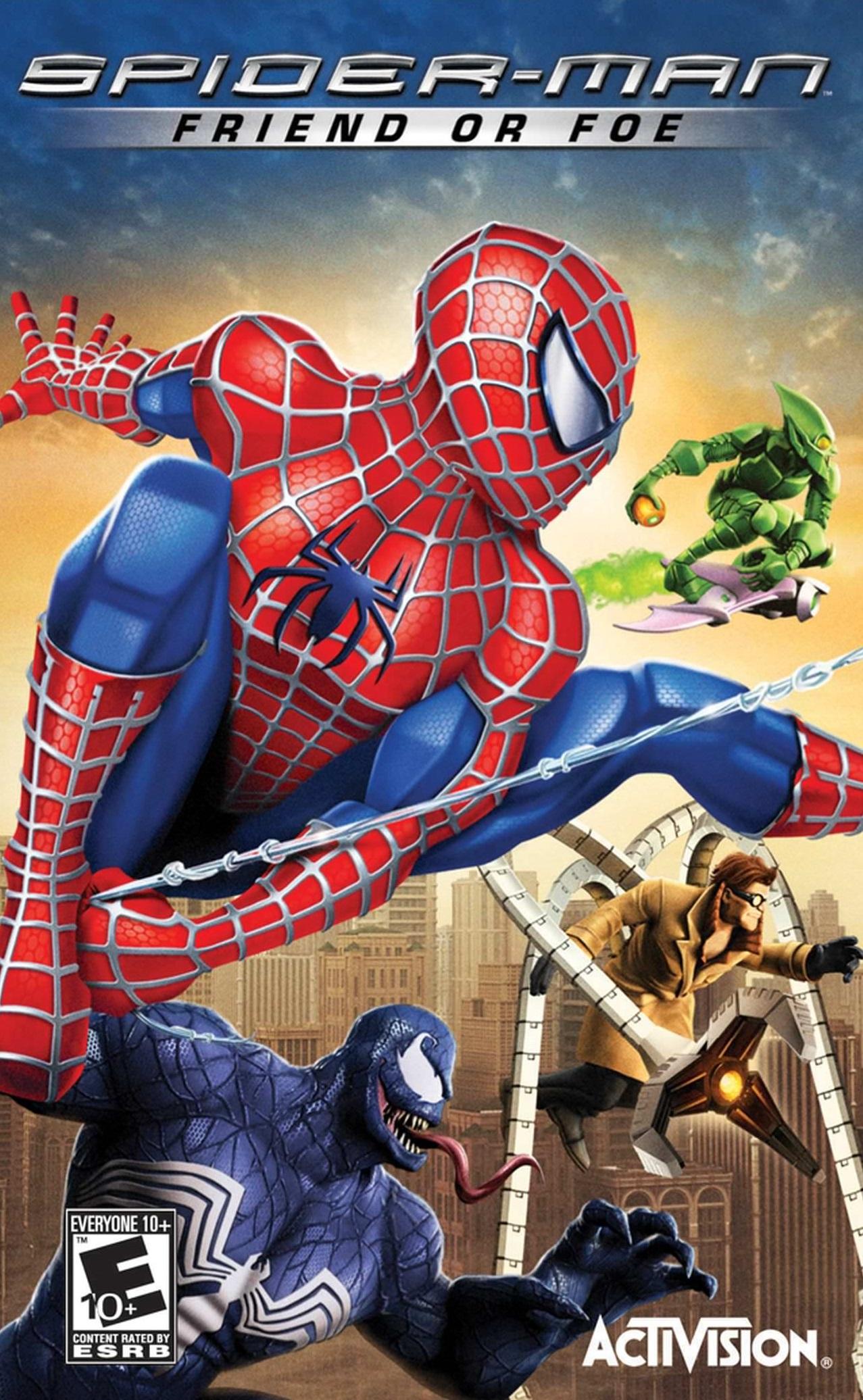Spider-Man: Friend or Foe (Video Game 2007) - IMDb