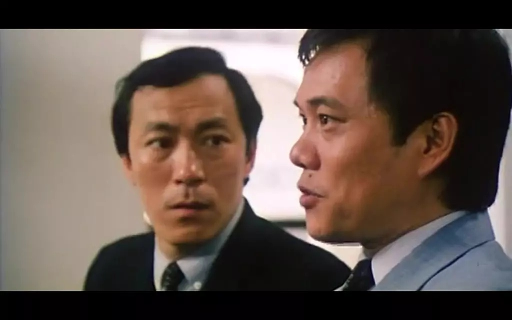 Philip Chan and James Tien in Seung lung chut hoi (1984)