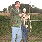 Scott and friend on the set of an episode of the Investigation Discovery series MONSTERS AND MYSTERIES IN AMERICA  Hampton, VA Dec. 2012