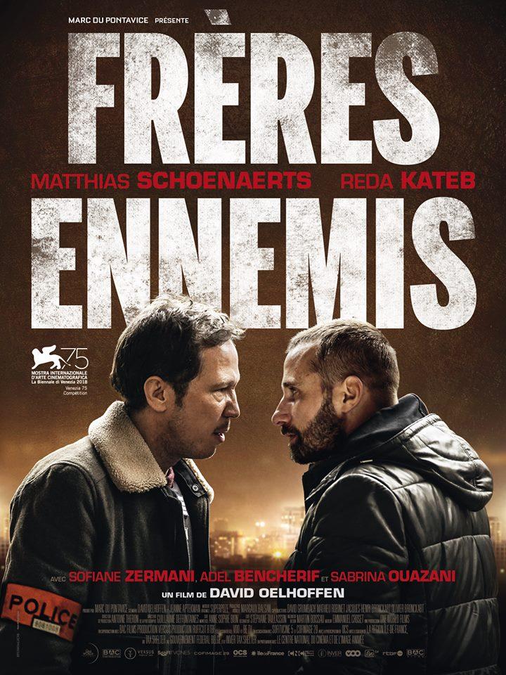 Reda Kateb in Frères ennemis (2018)