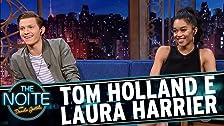 Tom Holland e Laura Harrier