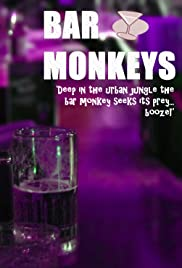Bar Monkeys Poster