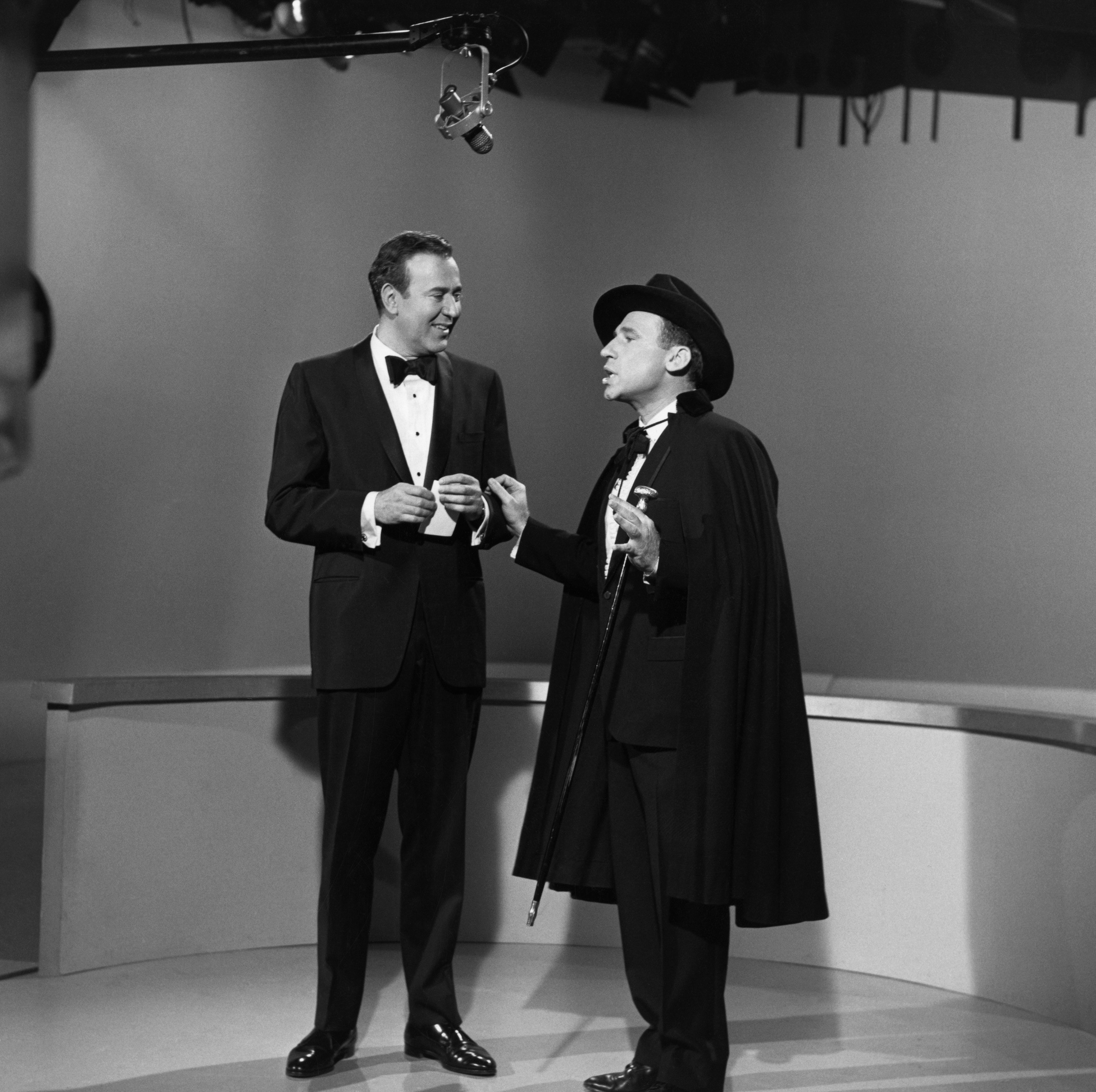Mel Brooks and Carl Reiner in The Andy Williams Show (1962)
