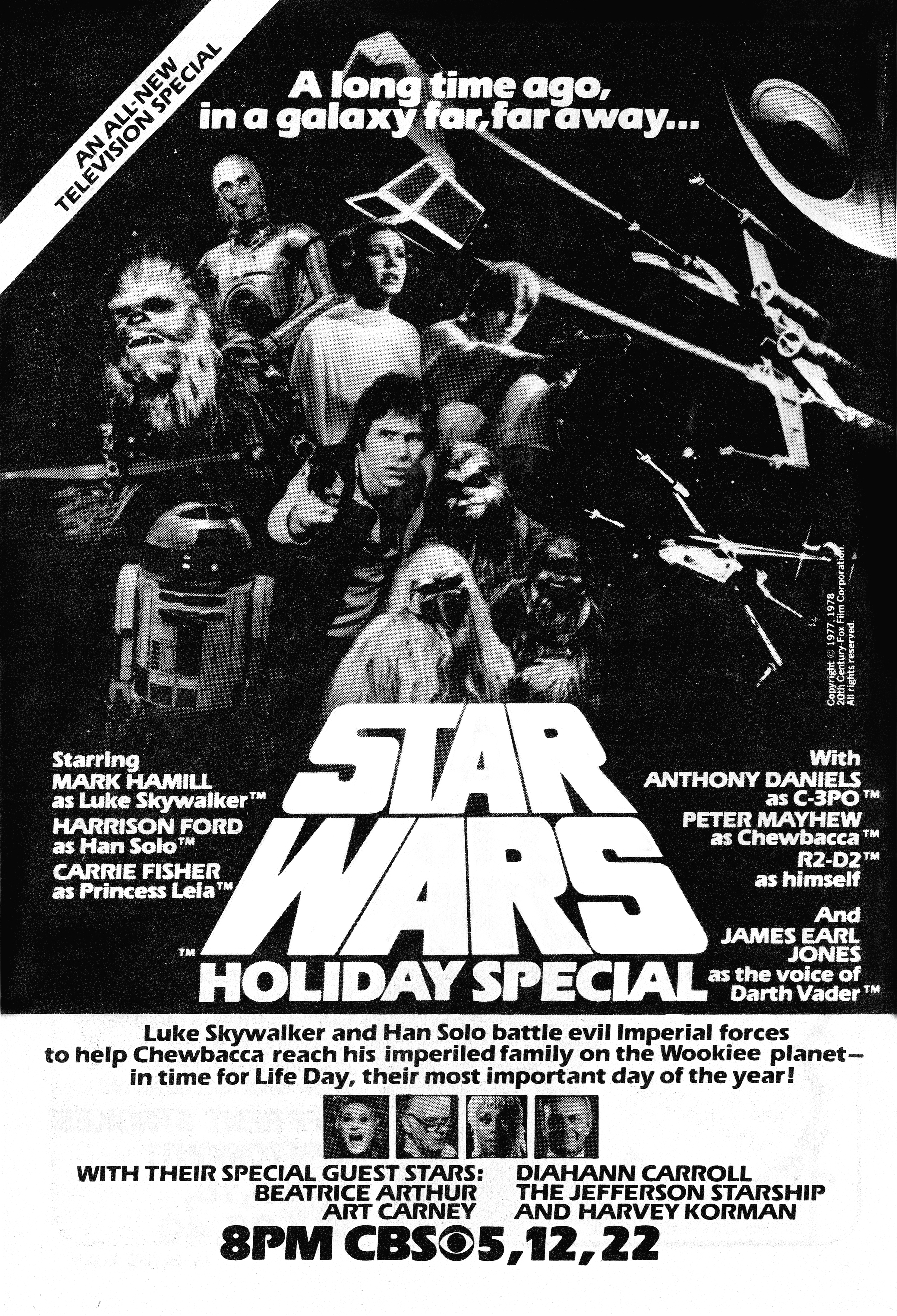 The Holiday Special no one wants to remember.