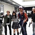 Masami Nagasawa, Yoshinori Okada, Yô Ôizumi, and Kasumi Arimura in I Am a Hero (2015)