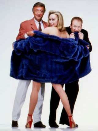 Franck de la Personne, Olivier Lejeune, and Alexandra Lorska in Le vison voyageur (1998)