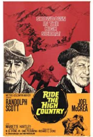 Randolph Scott and Joel McCrea in Ride the High Country (1962)