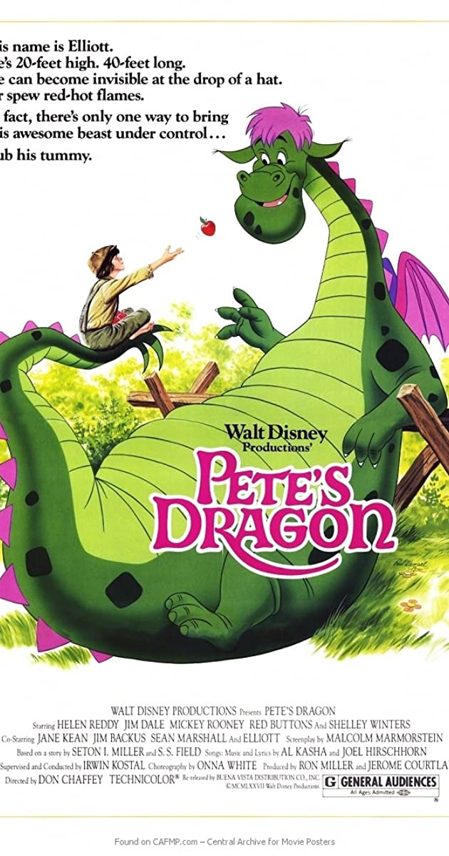 Pete's Dragon (1977) Subtitles