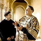 John Goodman and Johanna Wokalek in Die Päpstin (2009)