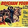 Tyrone Power, Linda Darnell, and Dean Jagger in Brigham Young (1940)