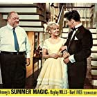 Hayley Mills, Peter Brown, and Burl Ives in Summer Magic (1963)