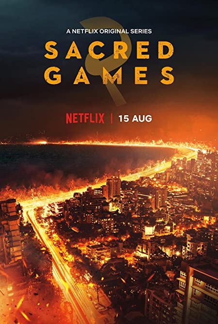 Sacred Games (2018–) Hindi WEB-DL - 480P   720P - x264 - 950MB   2.4GB - Download & Watch Online  Movie Poster - mlsbd