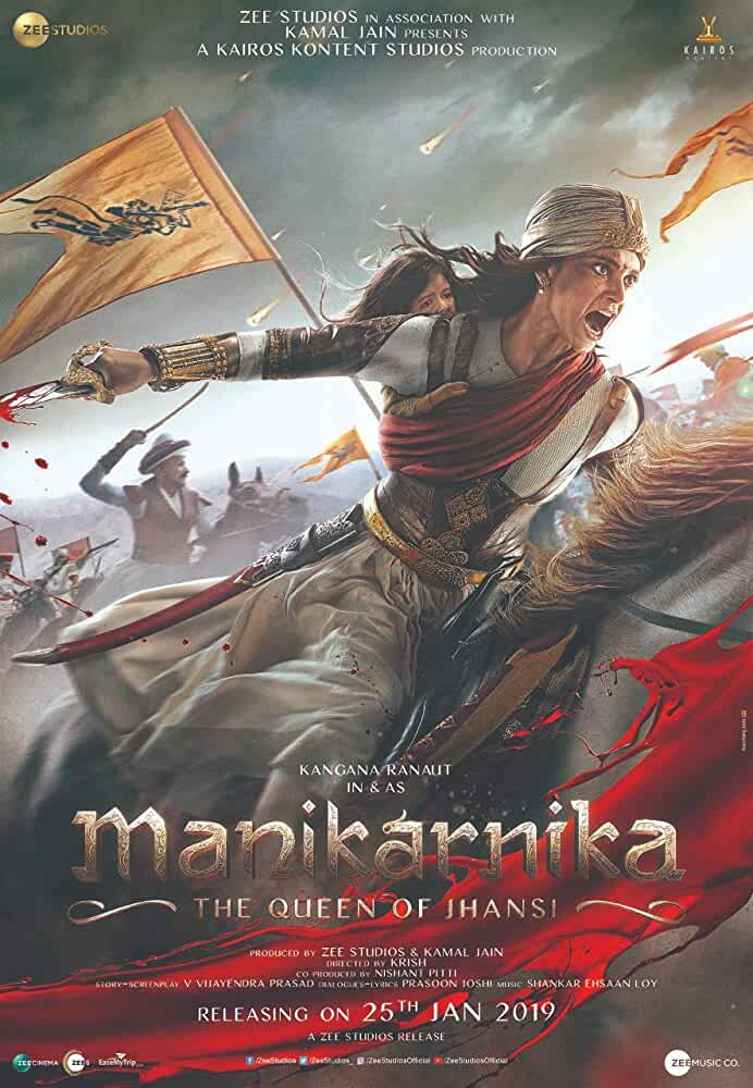 Manikarnika: The Queen of Jhansi (2019) Hindi 720p HDRip x264 1.2GB