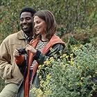 John David Washington and Alicia Vikander in Beckett (2021)