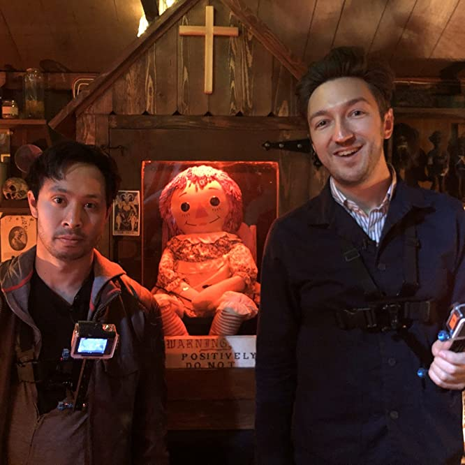 Ryan Bergara and Shane Madej in BuzzFeed Unsolved: Supernatural (2016)