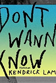 Maroon 5: Don't Wanna Know Poster