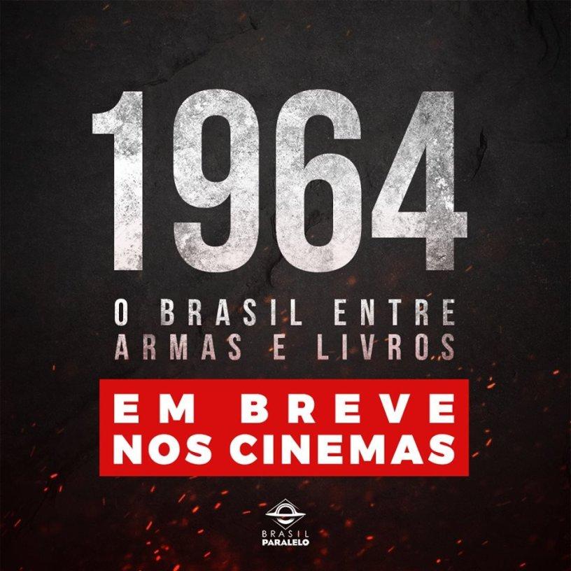 1964: O Brasil entre armas e livros (2019)