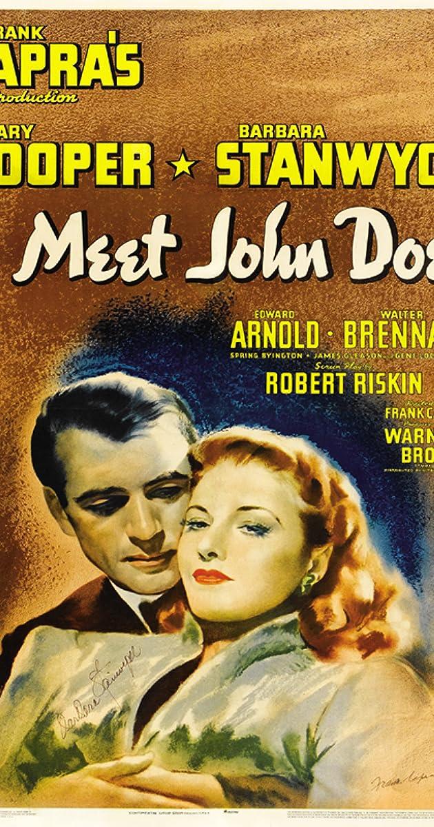 Meet John Doe (1941) - Meet John Doe (1941) - User Reviews - IMDb