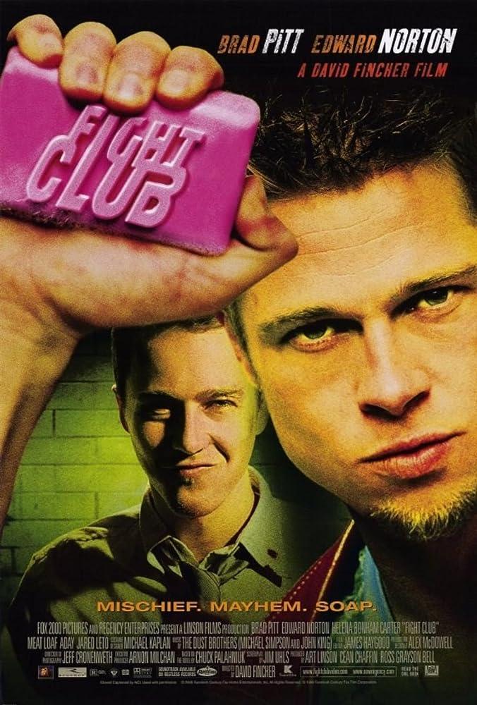 Fight Club 1999 Dual Audio [English+Hindi] BluRay 500MB Download