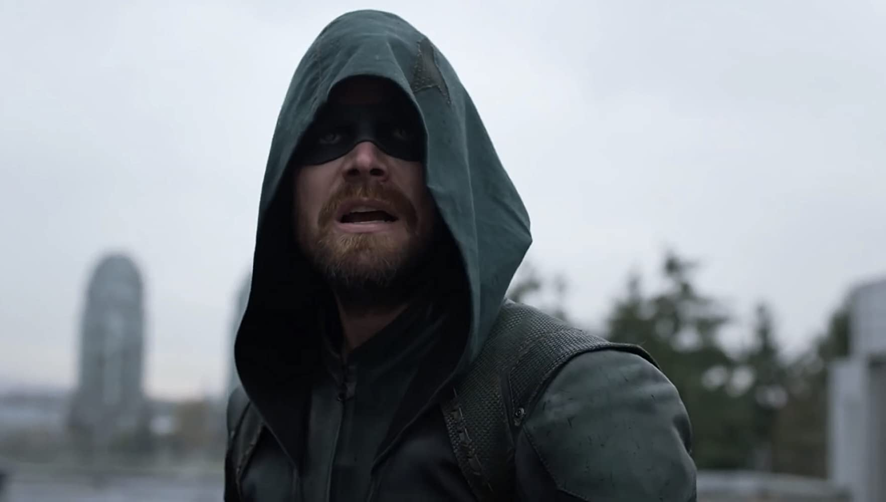 Stephen Amell in Supergirl (2015)