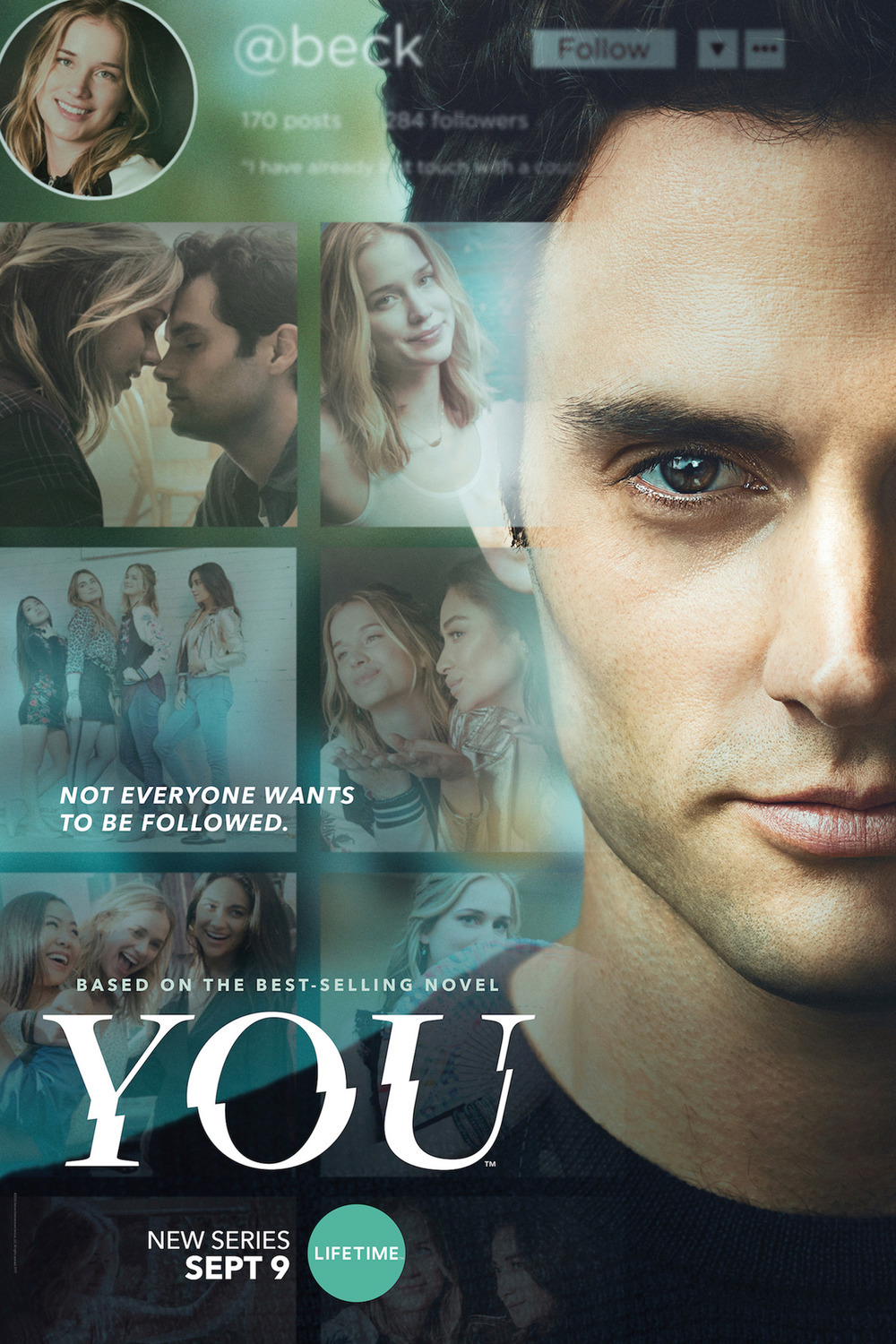 Image result for YOU (2018) series joe goldberg poster