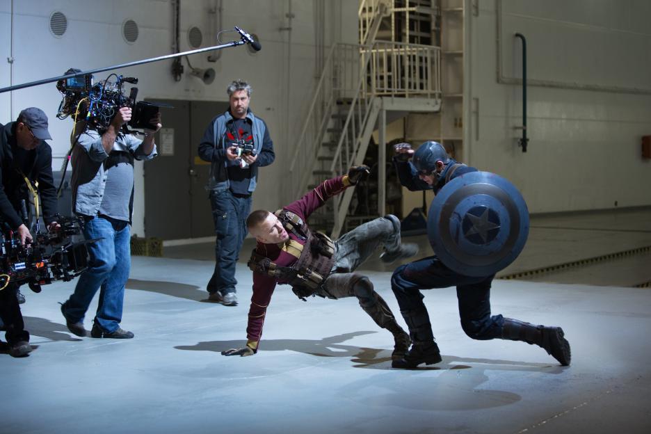 Dibalik proses pembuatan film 'Captain America: The Winter Soldier'.