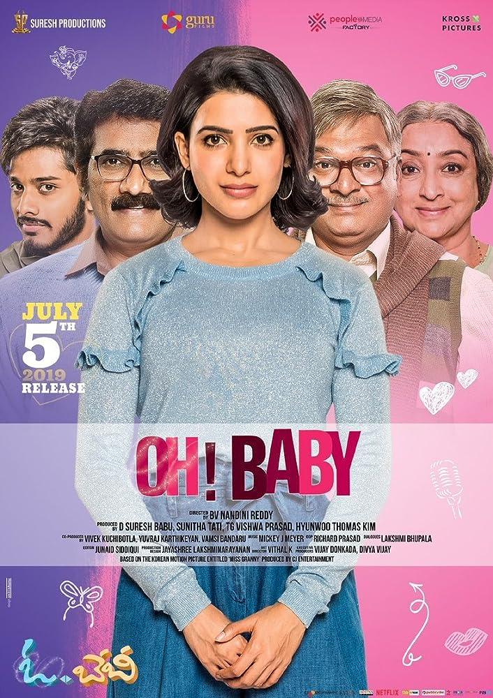 Oh! Baby (2019) Malayalam 720p Proper HDRip 1.4GB ESubs