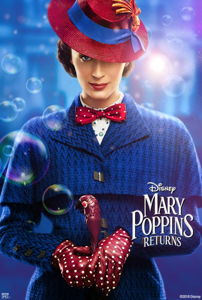 Mary Poppins Returns (2018) HDCAM 720p