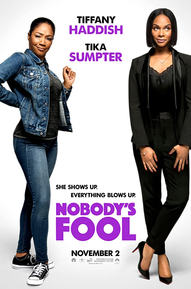 Tika Sumpter and Tiffany Haddish in Nobody's Fool (2018)