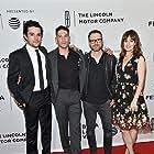 Jon Bernthal, Rosemarie DeWitt, Christopher Abbott, and Jamie M. Dagg at an event for Sweet Virginia (2017)