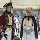 Marton Csokas and Emily Berrington in Sons of Liberty (2015)