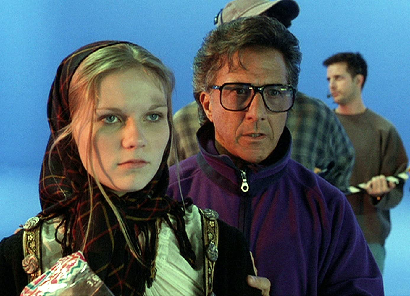Dustin Hoffman and Kirsten Dunst in Wag the Dog (1997)
