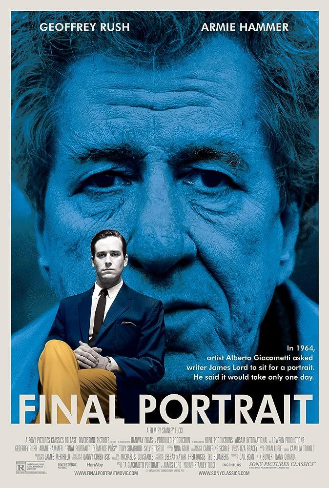 Final Portrait Poster ( IMDB )