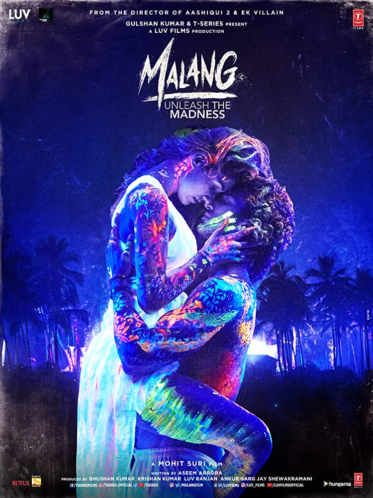 Malang (2020) Hindi Netflix WEB-DL - 480P | 720P | 1080P - x264 - 300MB | 950MB | 5.2GB - Download & Watch Online  Movie Poster - mlsbd