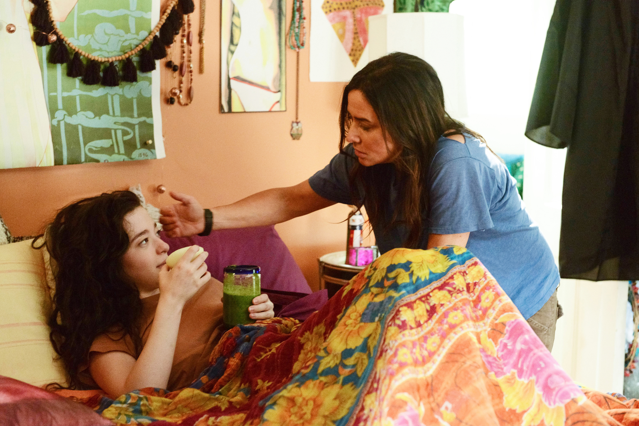 Pamela Adlon and Mikey Madison in Better Things (2016)