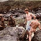 Ian McKellen, Graham Faulkner, Andrew McCulloch, and Niall Padden in Priest of Love (1981)