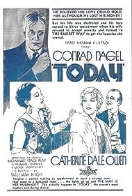 Julia Swayne Gordon, Conrad Nagel, Catherine Dale Owen, and John M. Sullivan in Today (1930)