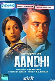 Aandhi(1975) Poster - Movie Forum, Cast, Reviews