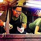 John Leguizamo, Sofía Vergara, Jon Favreau, and Emjay Anthony in Chef (2014)