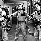 Dan Aykroyd, Bill Murray, and Harold Ramis in Ghostbusters (1984)