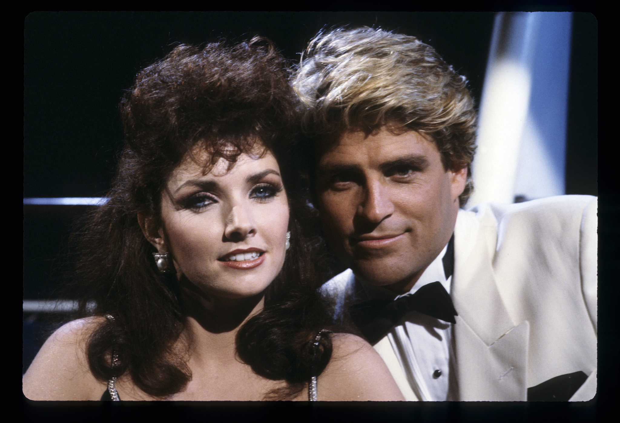 Morgan Brittany and Ted McGinley in The Love Boat (1977)