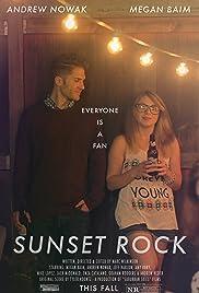 Sunset Rock Poster