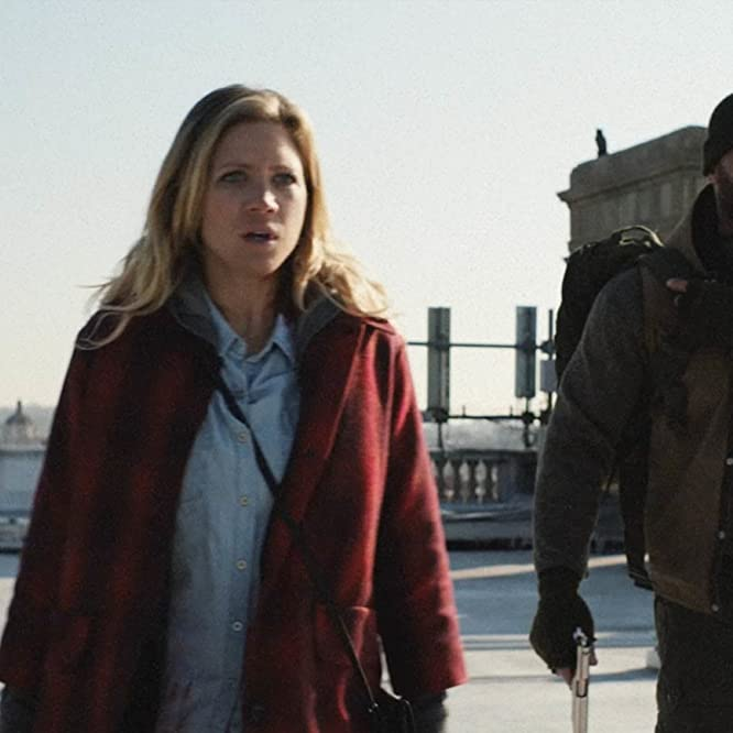 Brittany Snow and Dave Bautista in Bushwick (2017)