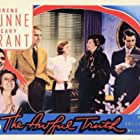 Cary Grant, Ralph Bellamy, Irene Dunne, and Esther Dale in The Awful Truth (1937)