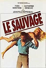 Catherine Deneuve and Yves Montand in Le sauvage (1975)